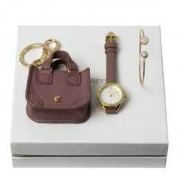 Kit pulseira, chaveiro e relógio