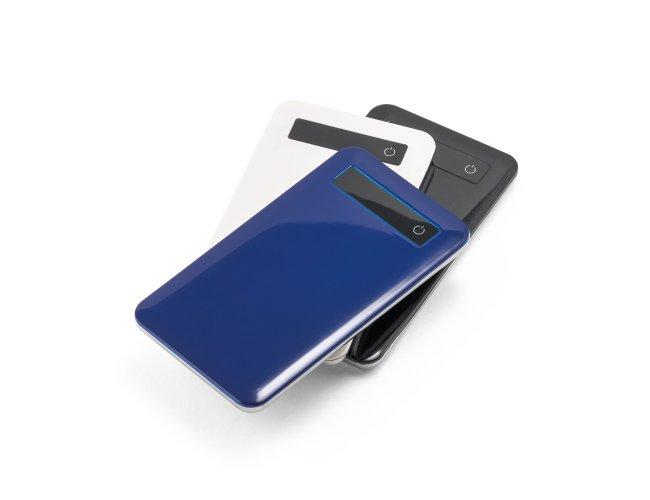 SAGAN. Bateria portátil com ecrã touch e indicador de carga