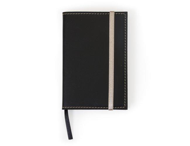 Caderneta tipo Moleskine