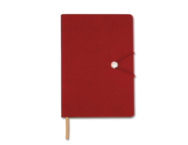 Caderneta Tipo Moleskine com Fecho