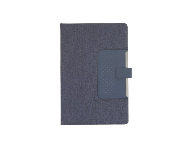 Caderno com Porta Caneta