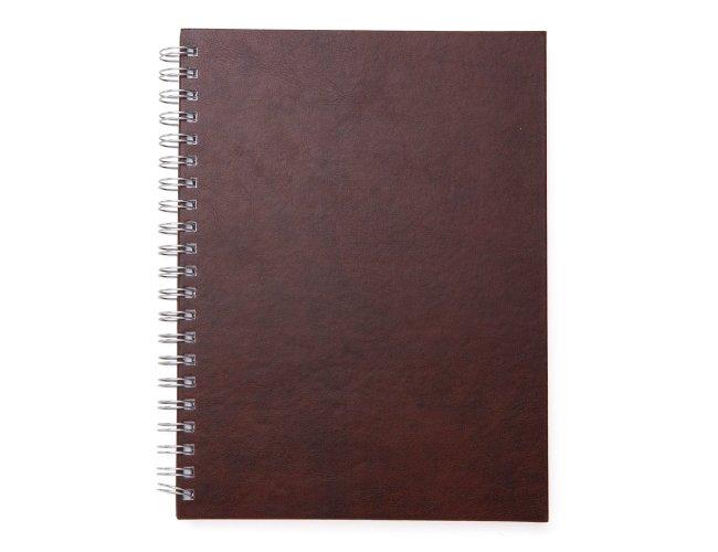 Caderno de Couro Sintético