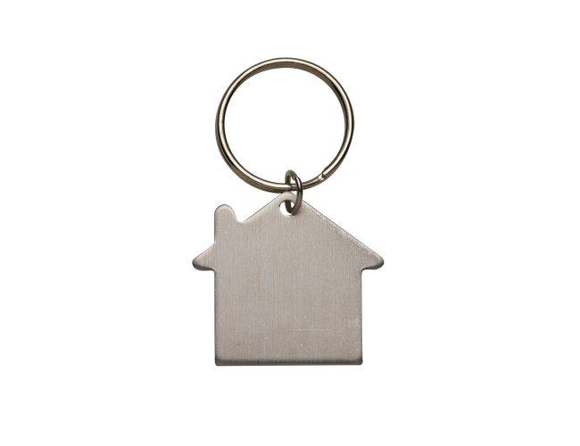Chaveiro Plaquinha Formato Casa