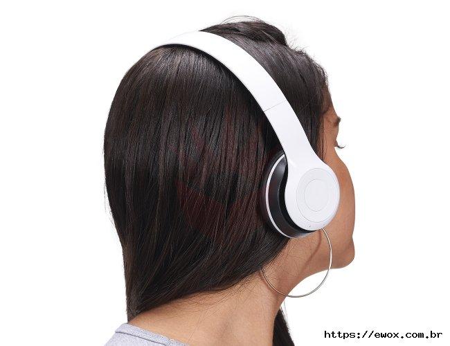 Fone de Ouvido Brilhante Bluetooth