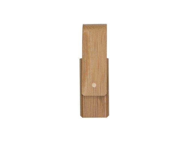 Pen Drive 4GB Giratório Bambu